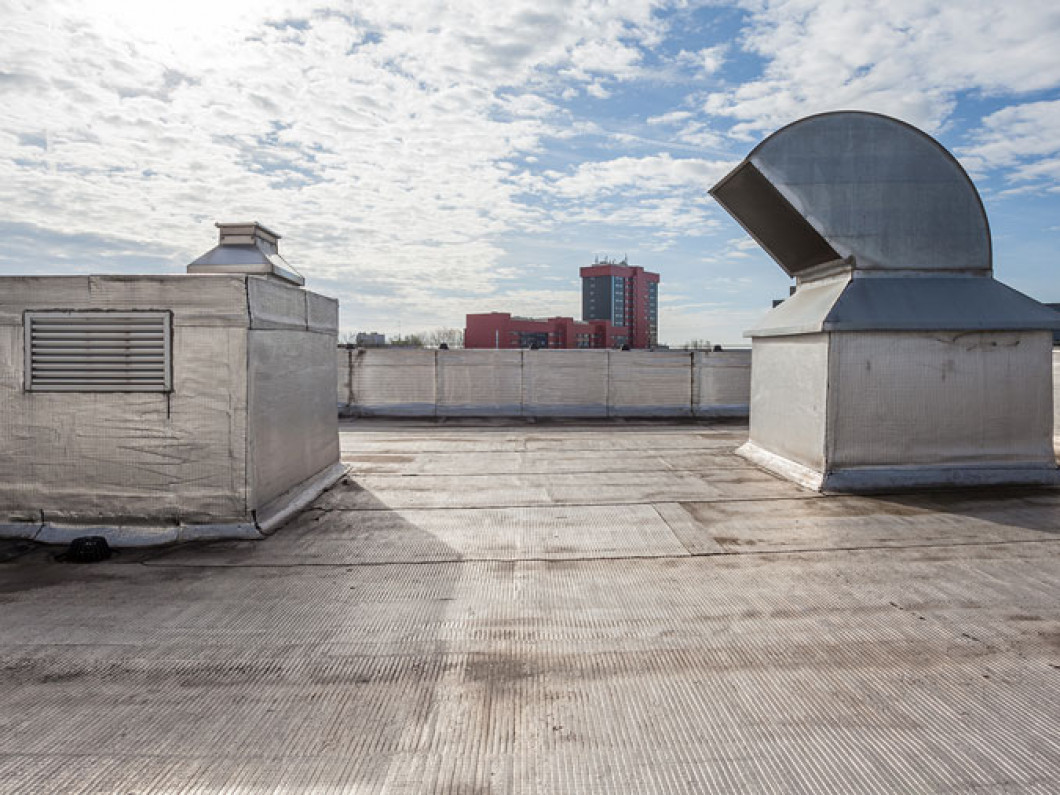 We Offer Commercial Roof Repair, Replacement and Installation Services