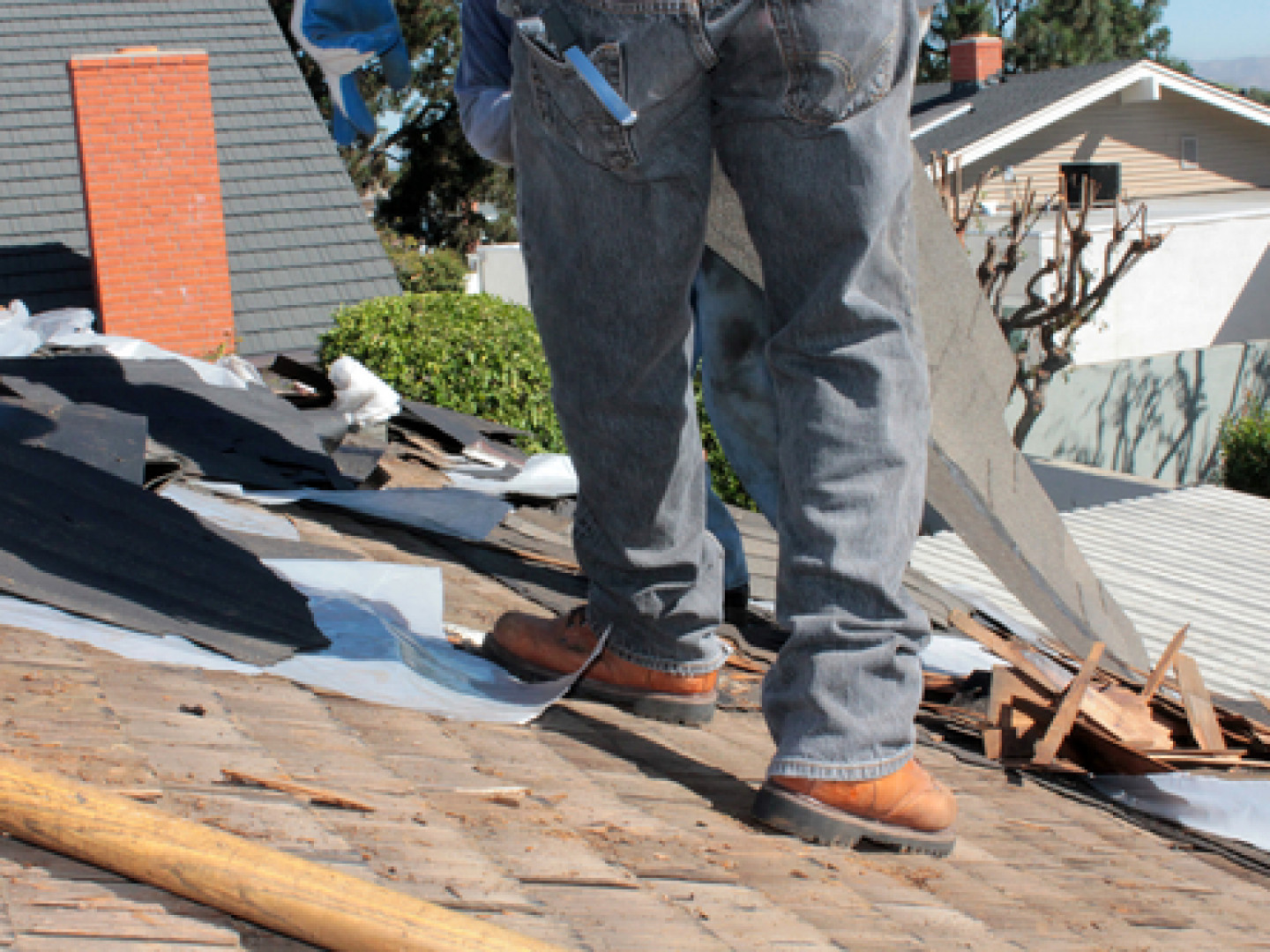 Is Your Roof Falling Apart?
